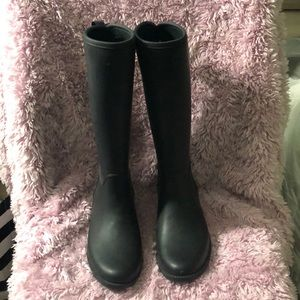 Lace up Rain boots